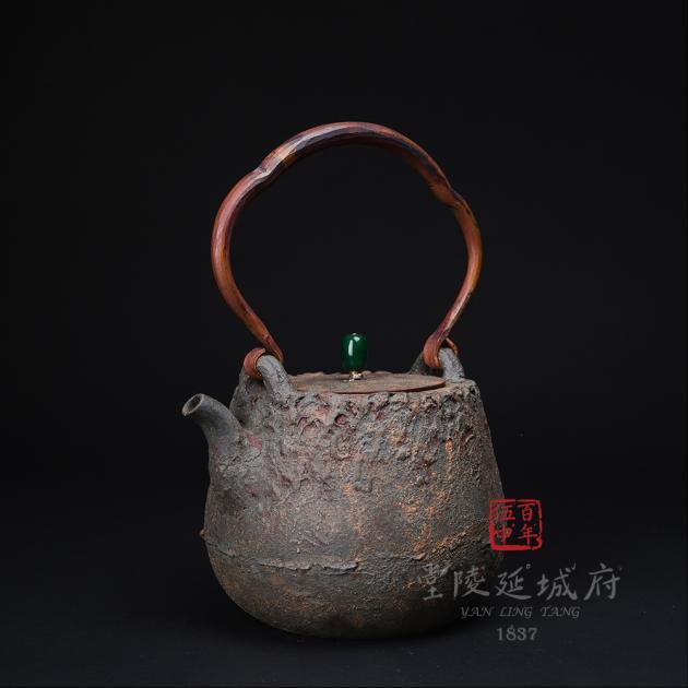 藝術紫砂仿生燒水壺2 1