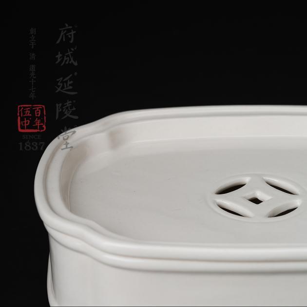 象牙瑶質壺承 2