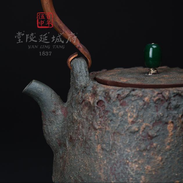 藝術紫砂仿生燒水壺2 2