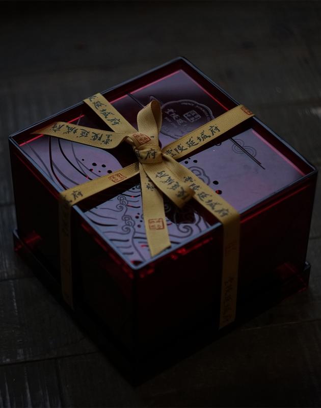 百年伍中 府城延陵堂 典藏藝術茶禮 1979 Amber Charms 5
