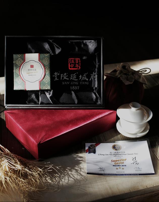 2018 高冷四季烏龍 iTQi 米其林金三星禮盒 ─ 1入茶+蓋碗 2