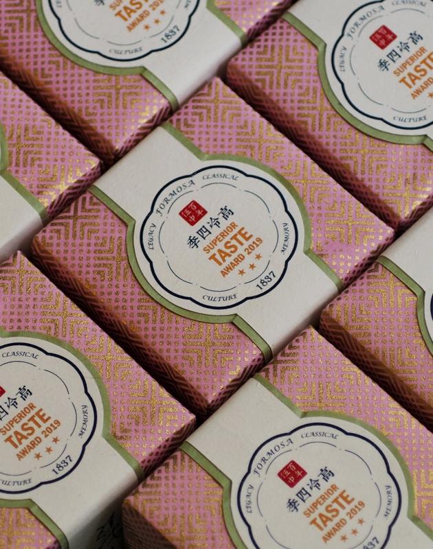 2019 高冷四季烏龍 iTQi 米其林金三星禮盒 ─ 2入茶 SUPERIOR TASTE AWARD 2019 3