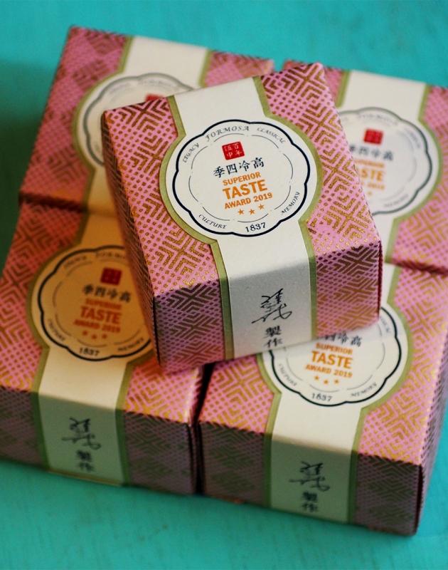 2019 高冷四季烏龍 iTQi 米其林金三星禮盒 ─ 2入茶 SUPERIOR TASTE AWARD 2019 2